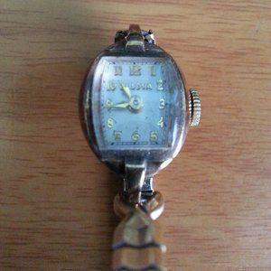 Bulova 10K Gold Filled 275405 Watch***